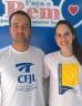 Professor e aluna do CFJL estão na Seleção Gaúcha de Voleibol